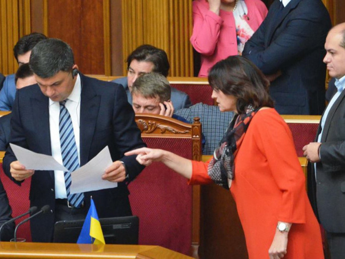 Ірина Констанкевич відстоює інтереси атовців