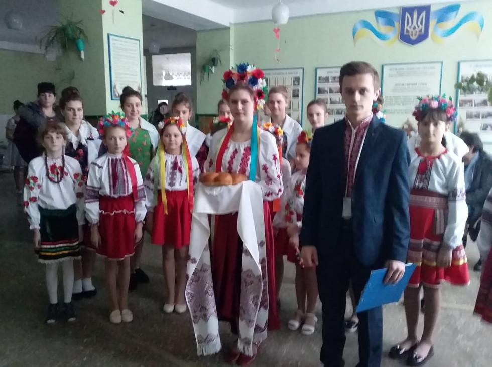 Загорівчани зустрічають гостей