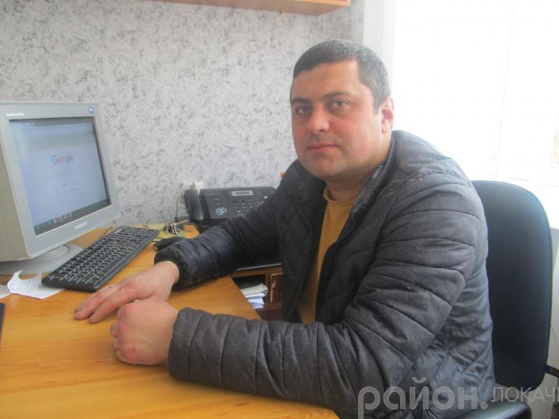 Начальник Локачинського ВУЖКГ Олег Джура