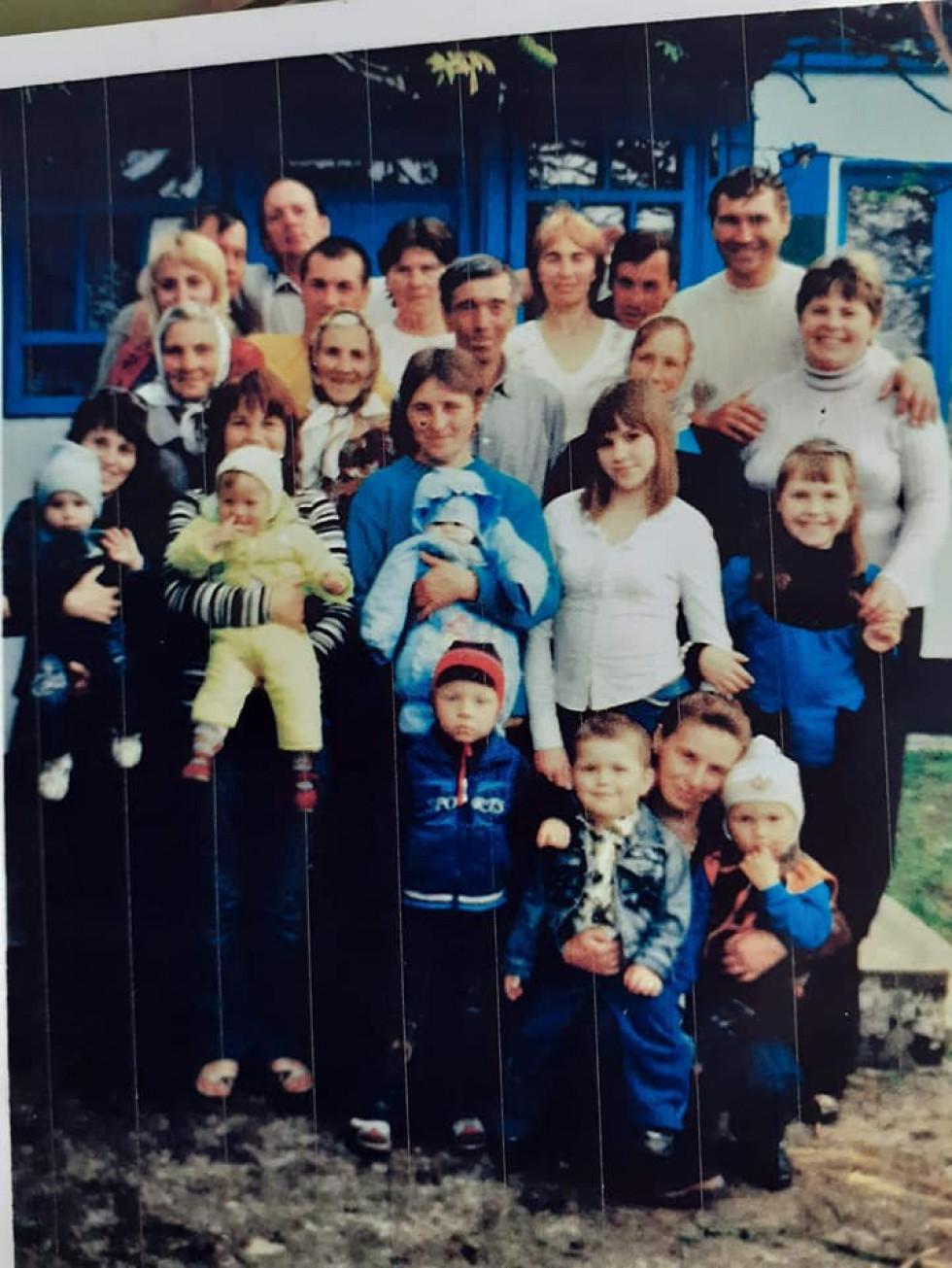 Родина Паламарчуків десять літ тому