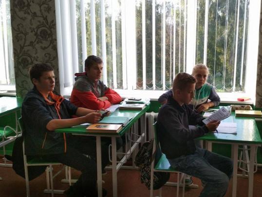 Школярі на лекції про права
