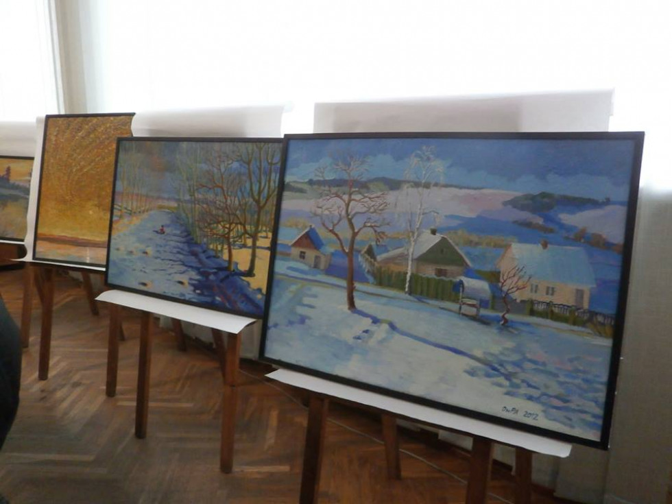 Картини Ореста Хмельовського