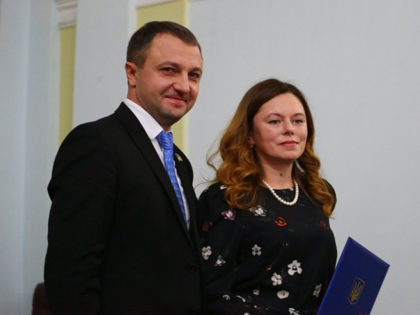 Вчителька Локачинської гімназії Олена Бойко