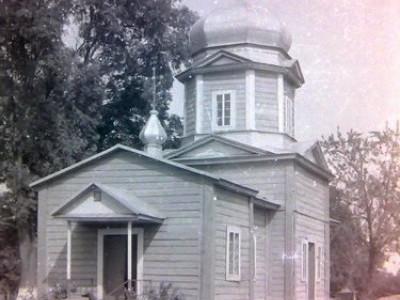Церква святого Михайла. Линів, 1992 рік.