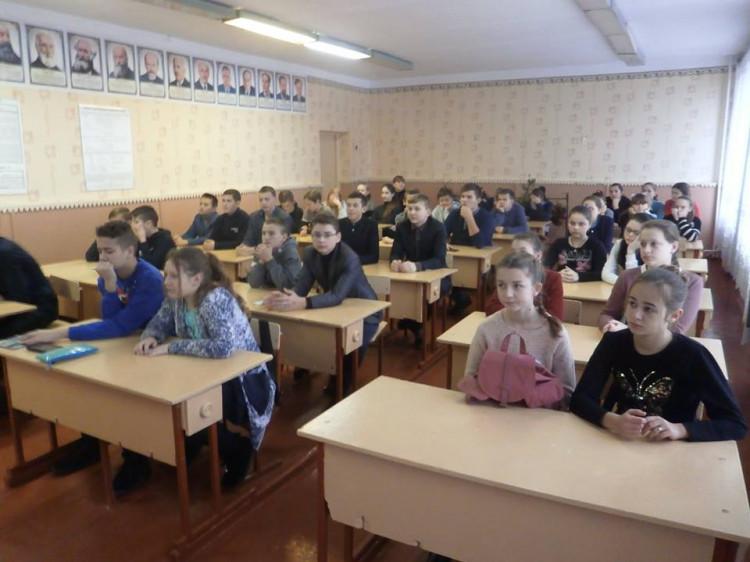 Учні та учениці 8 класів