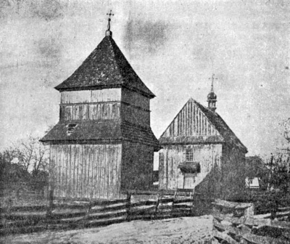 Преображенська церква 1609 року. Локачі