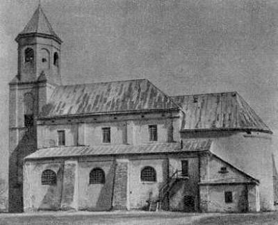 Троїцький костел 1642 року. Затурці