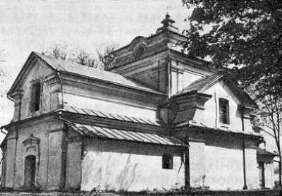 Михайлівська церква та дзвіниця 1632 – 1677 роки. Кисилин