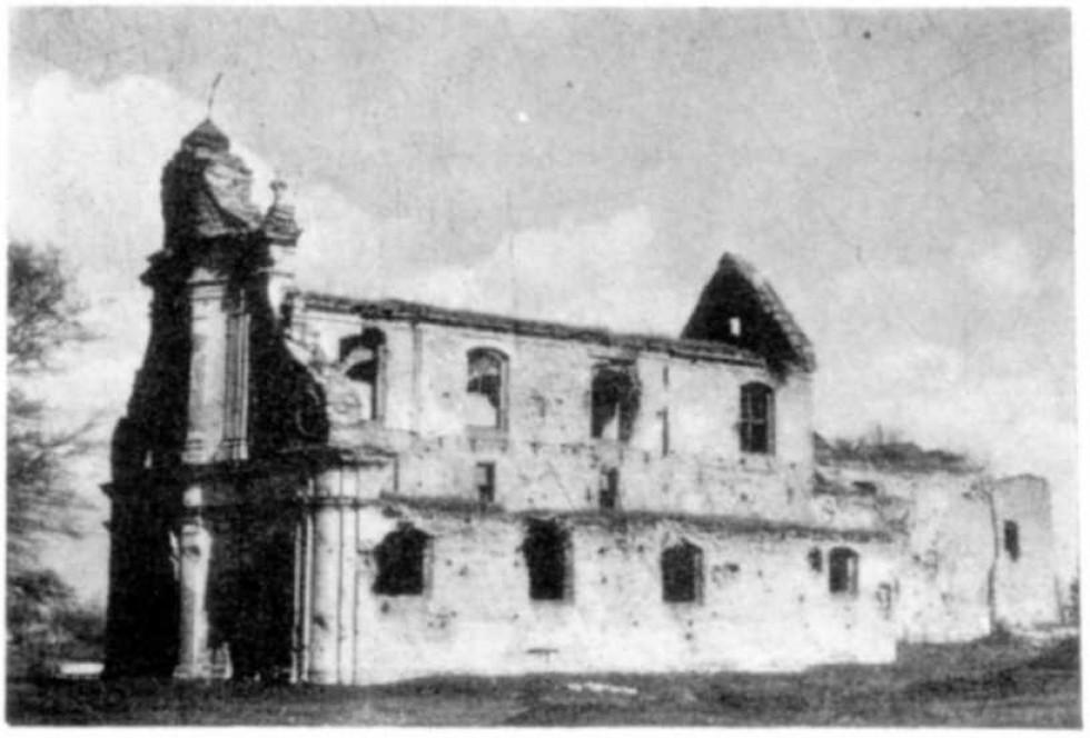 Монастир Різдва Богородиці 16 століття. Новий Загорів