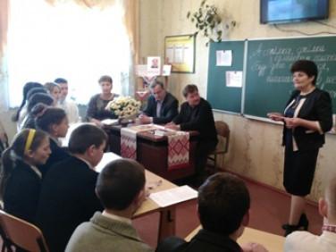 Школа у селі Великий Окорськ