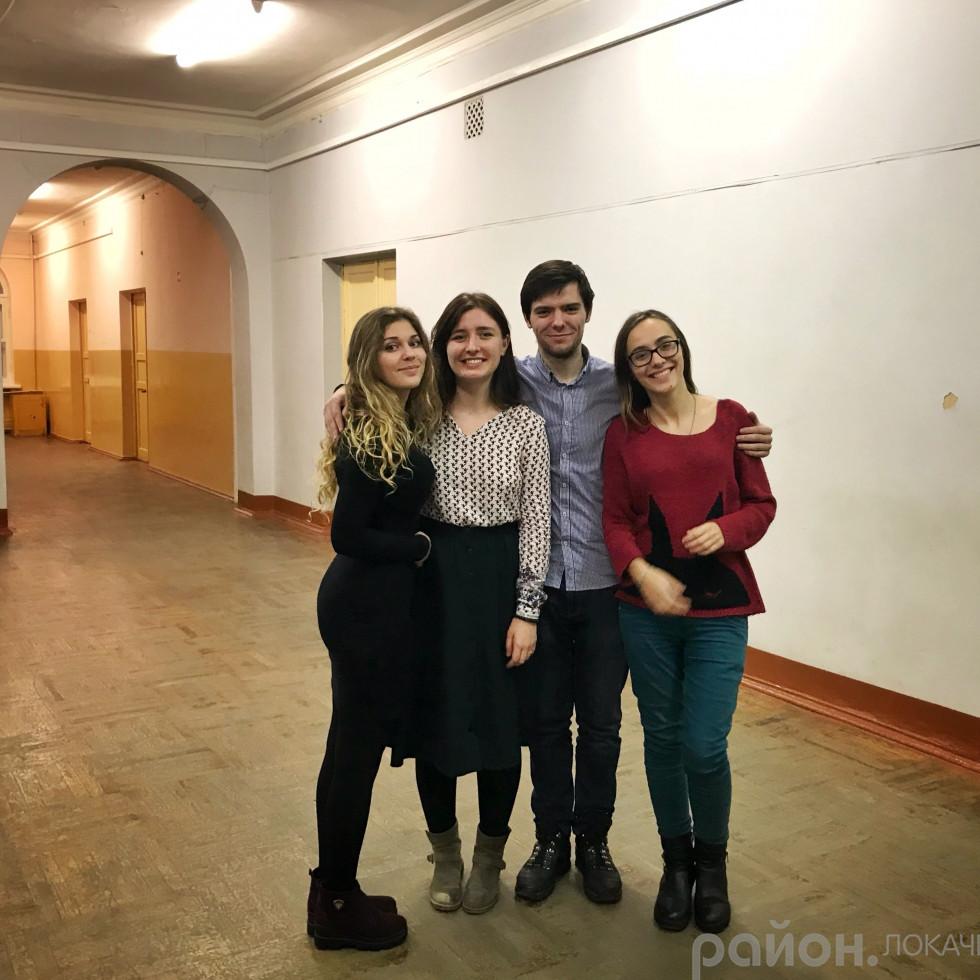 Українські команди від Острозької академії
