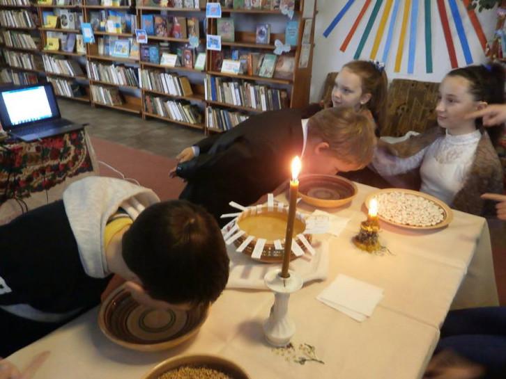 Конкурси на свято Андрія у бібліотеці