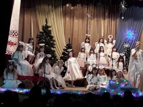 Янголята «Зернятка» , Аня Герасимюк, Настя Новосад, Аня Козак та Оксана Ящук