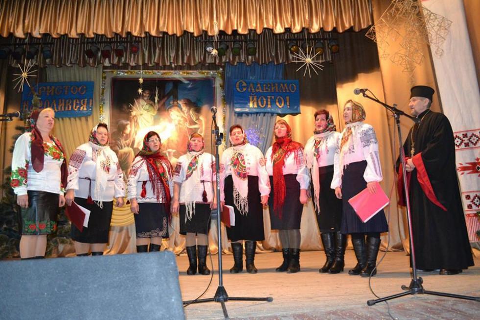 Хор села Коритниця