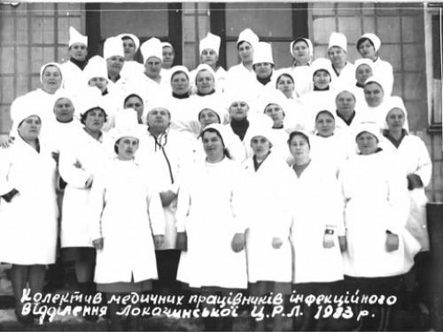 Лікарі інфекційного відділення
