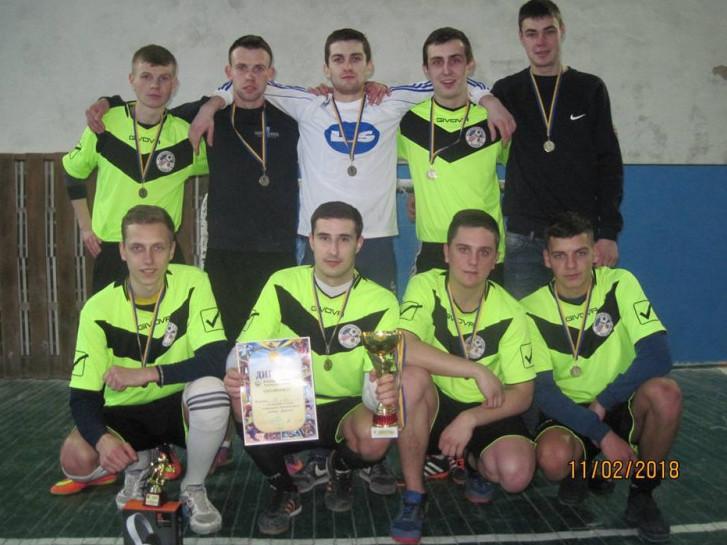 Команда-переможець ФК «Локачі»