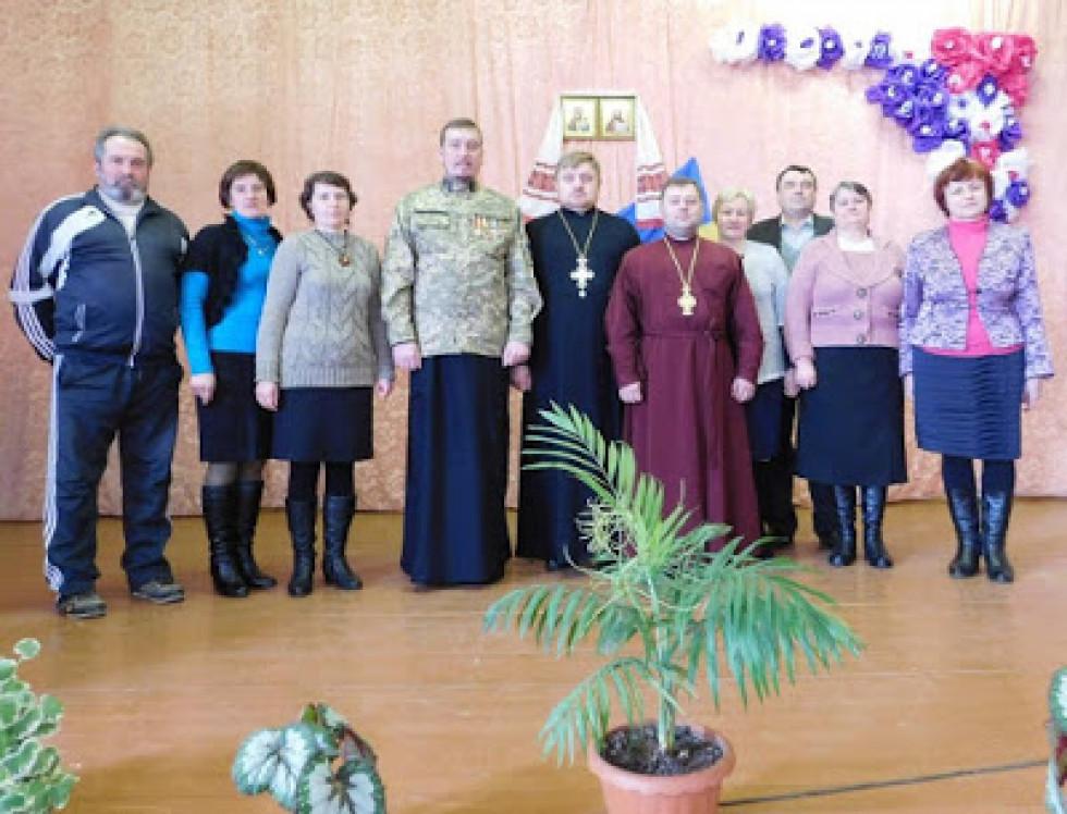 На зустрічі з військовим капеланом