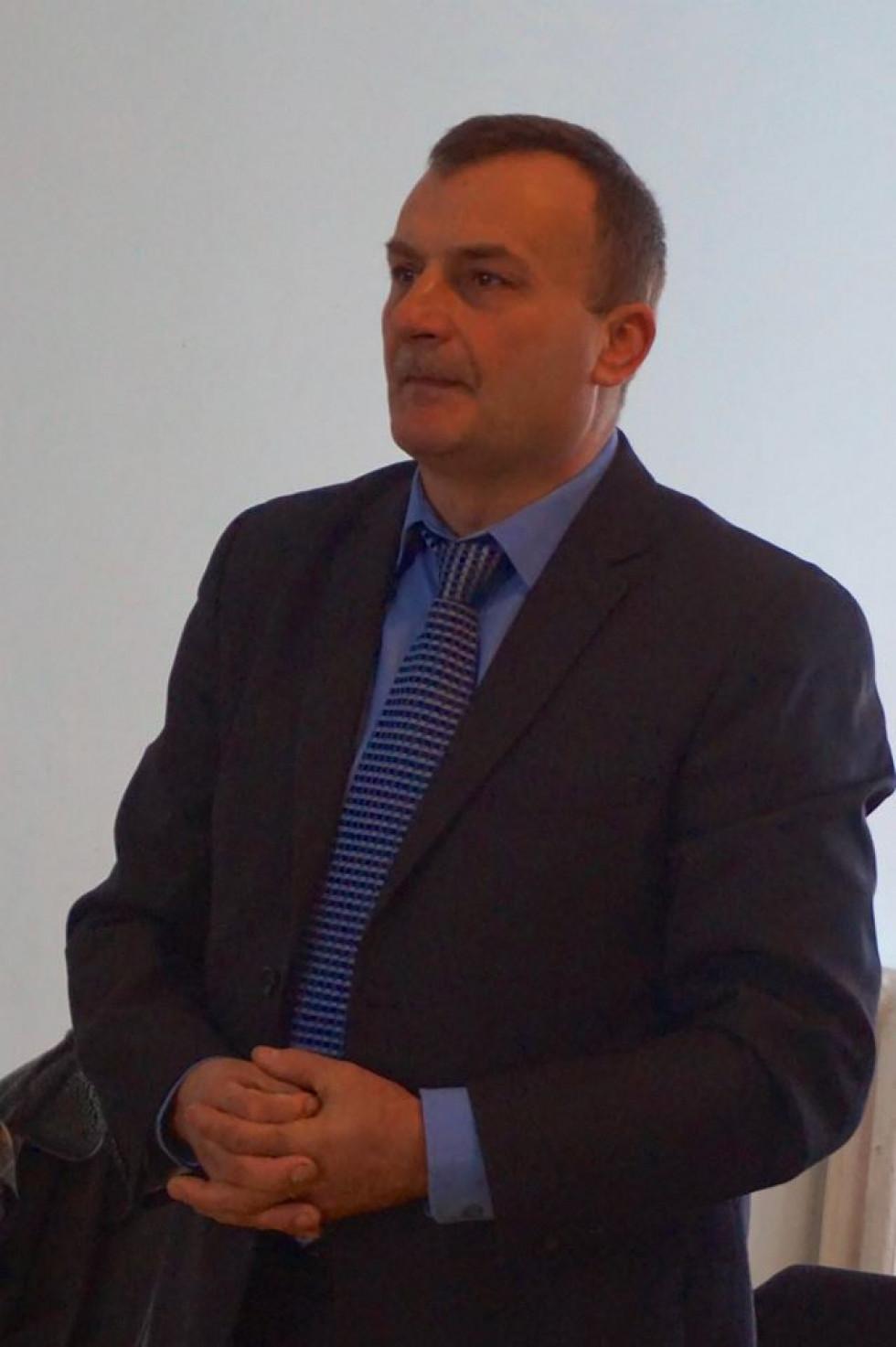 Голова Локачинської РДА Віктор Дудечко