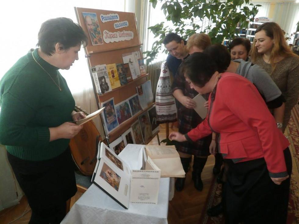 Літературний флешмоб у Локачинській бібліотеці