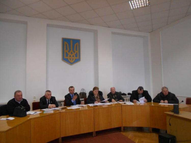 Засідання у райдержадміністрації