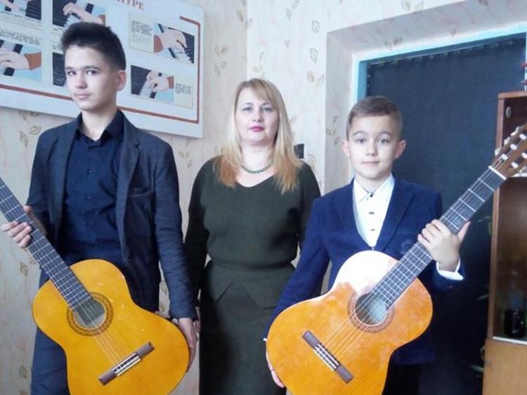 Учні музичної школи взяли участь у обласному конкурсі