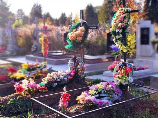 Волинян просять відмовитись від штучних квітів на кладовищах.