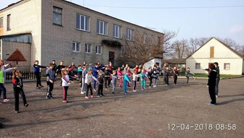 у школі провели конкурс «Рух заради здоров'я»