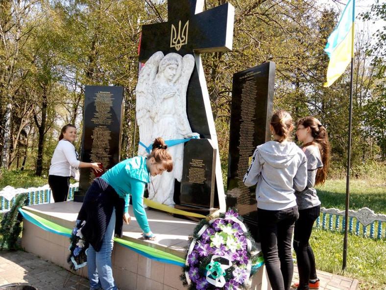Школярі приєднались до Всеукраїнського суботнику