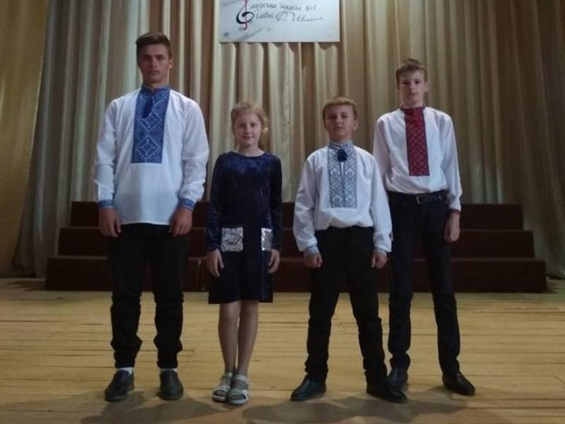 Вихованці музичної школи