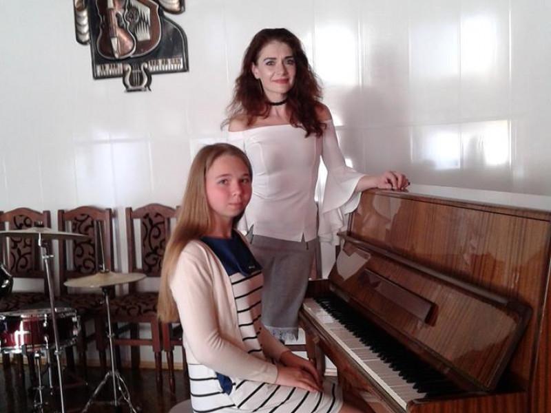 Соломія та викладач