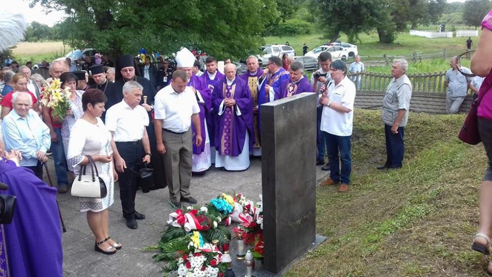 У Кисилині вшанували жертв Волинської трагедіїї