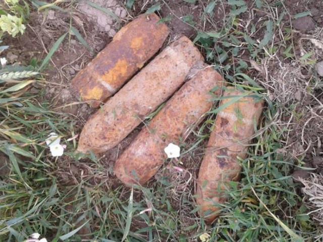 Піротехніки знешкодили десять боєприпасів часів Другої світової війни