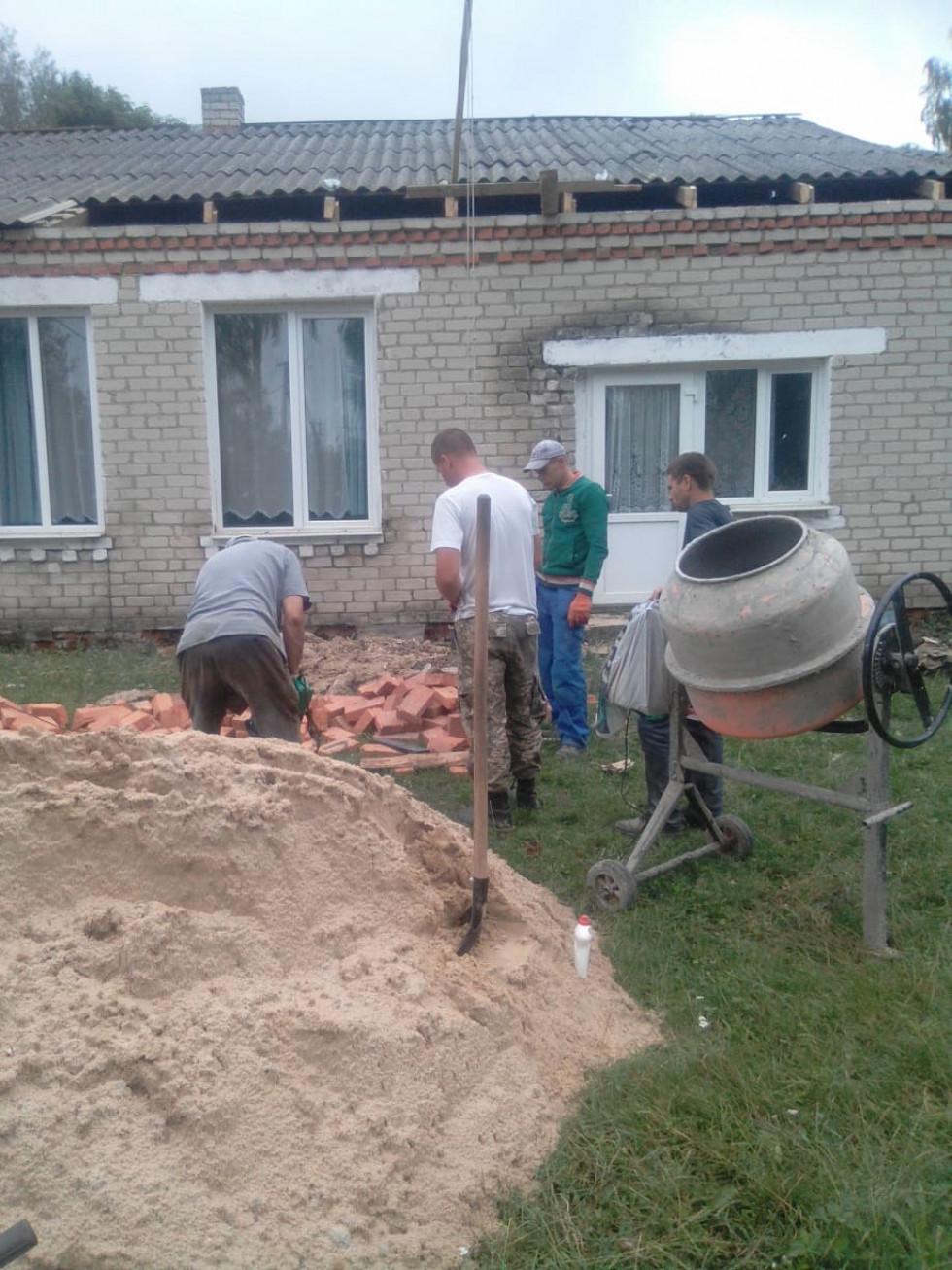 Розпочато ремонтні роботи у ДНЗ с. Шельвів
