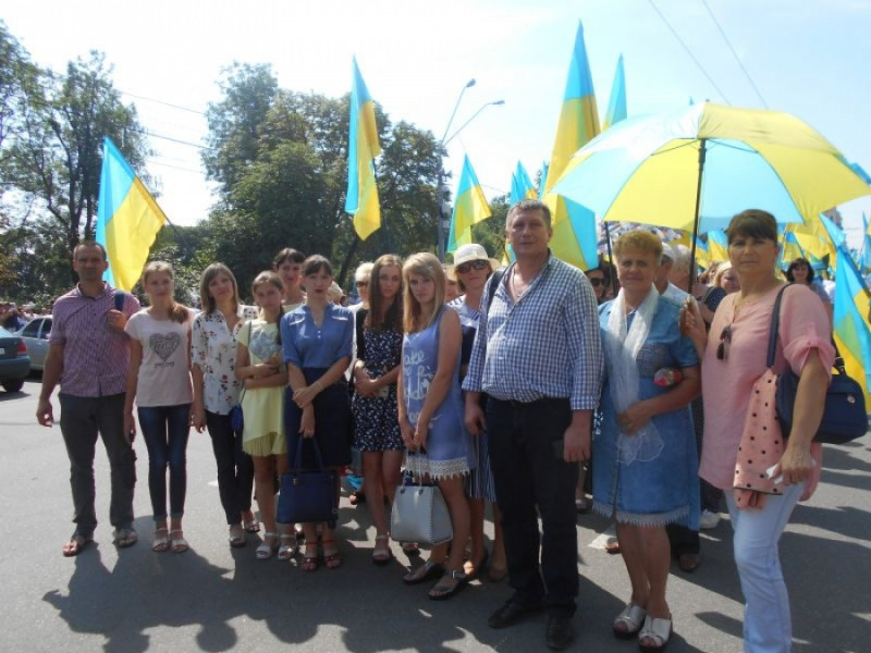 Делегація Локачинщини взяла участь у хресній ході