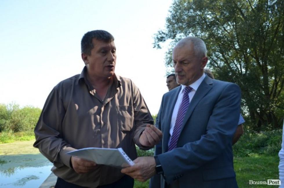 Олександр Савченко розкритикував роботу Локачинського посадовця