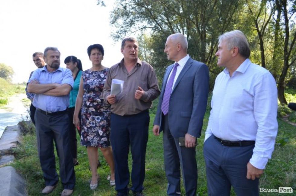 Савченко з візитом у Локачинський район