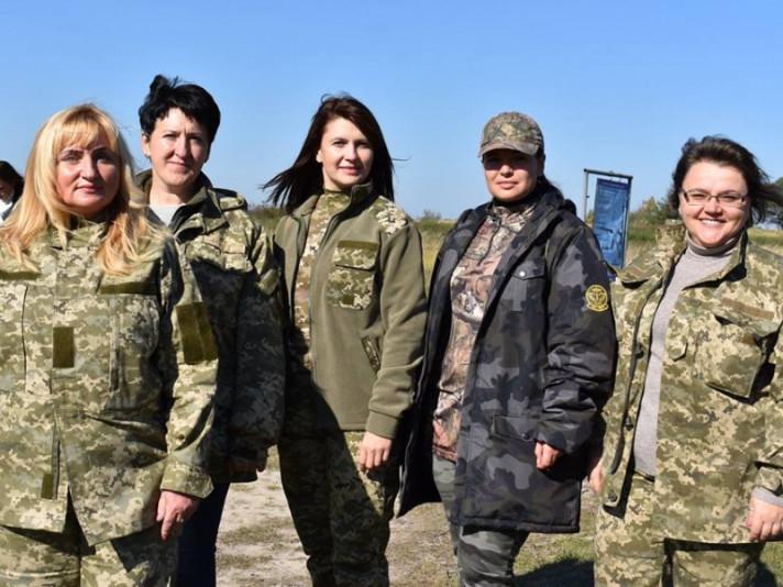 Першазаступницяголови райдержадміністрації Наталія Сафронова очолила команду Локачинського району для участі в обласних заходах з нагодиДнябійця територіальної оборони