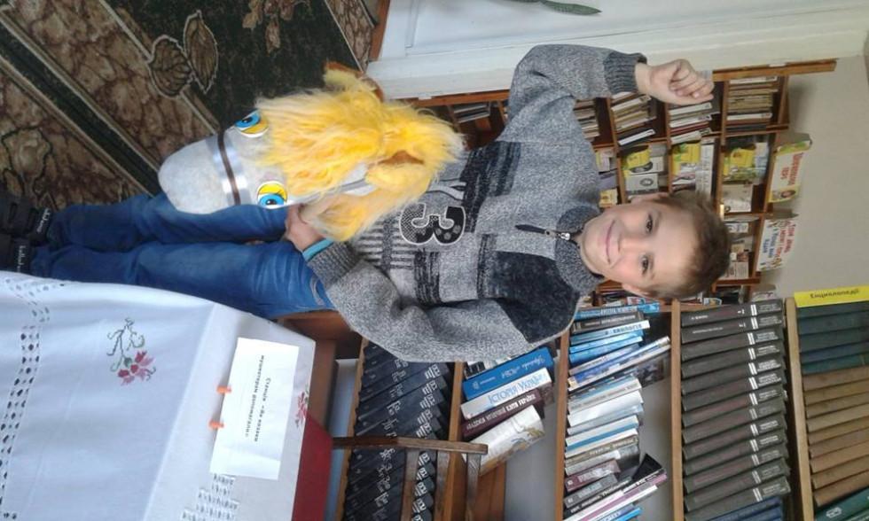 У Локачинській бібліотеці для дітейпровеливеселий квест