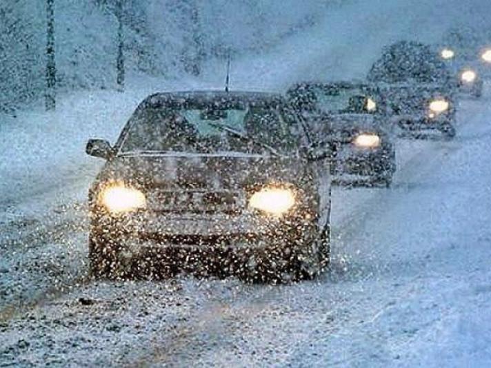 Волинських водіїв попереджають про погіршення погодних умов