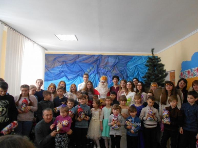 У райцентрі організували дитячий ранок до Дня Святого Миколая