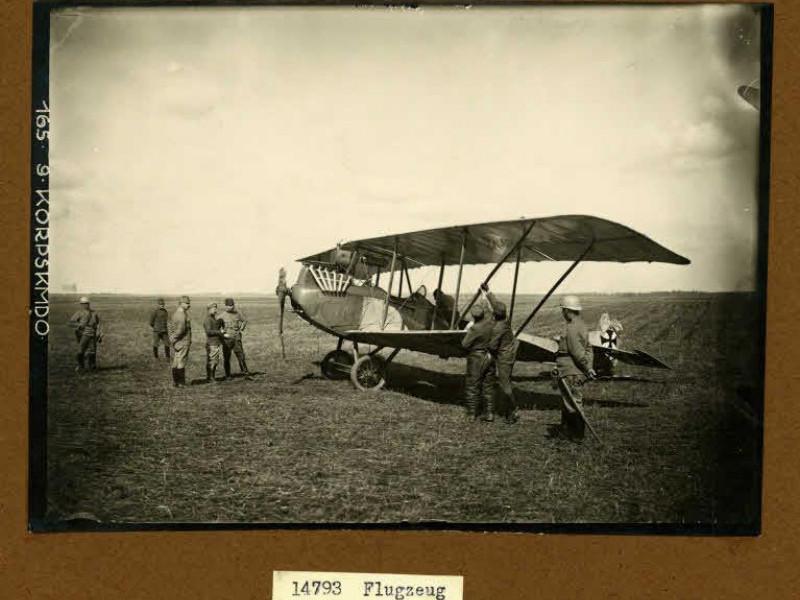 Повітряний аеростат біля села Старий Загорів