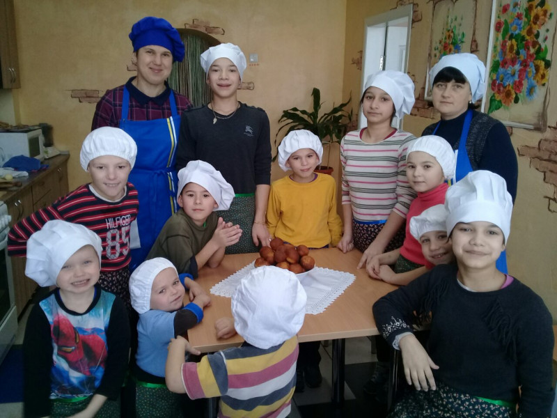 Кулінарна студія у Затурцівській школі інтернаті
