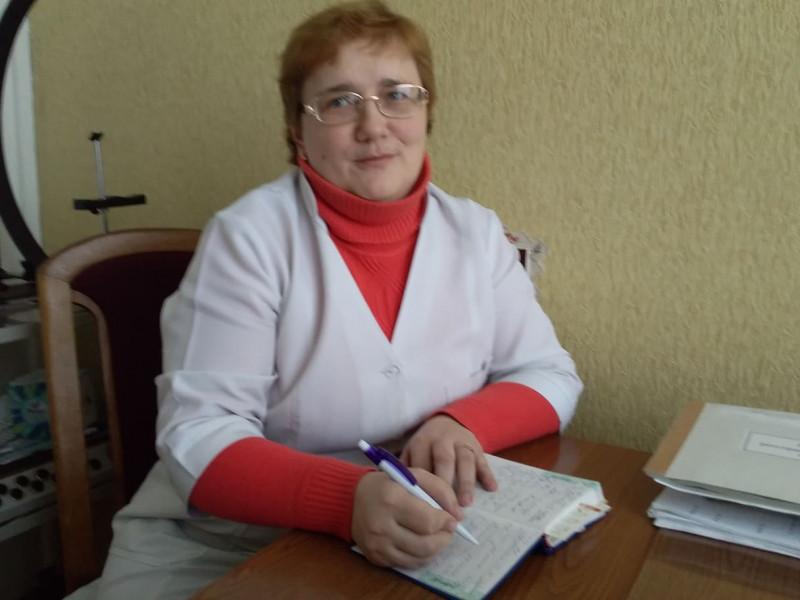 Ірина Мигович,  заступник головного лікаря КНП «Локачинський РЦПМСД»
