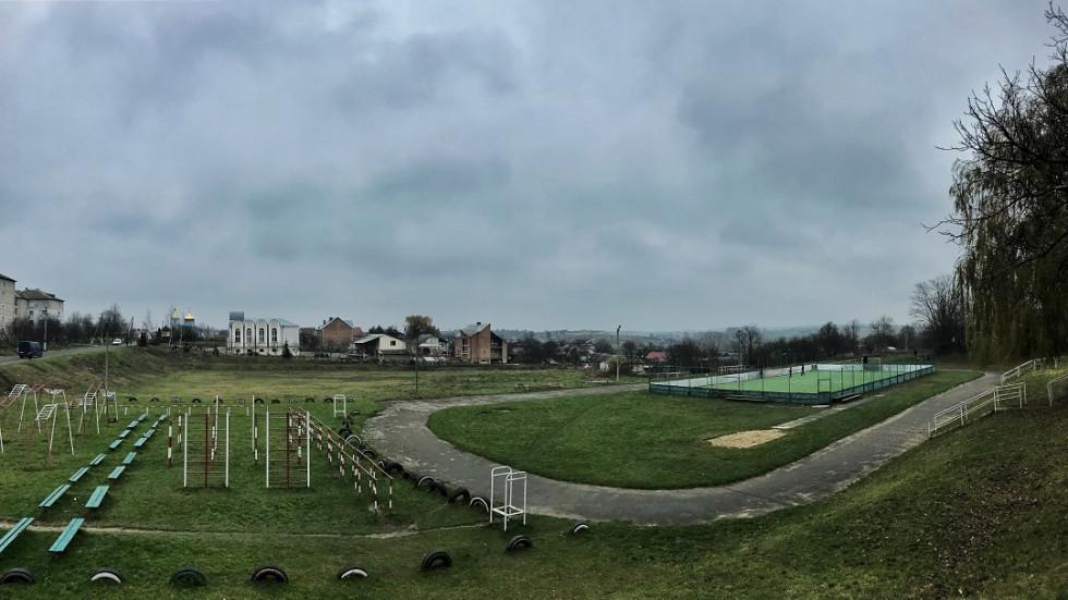 Шкільний стадіон у Локачах