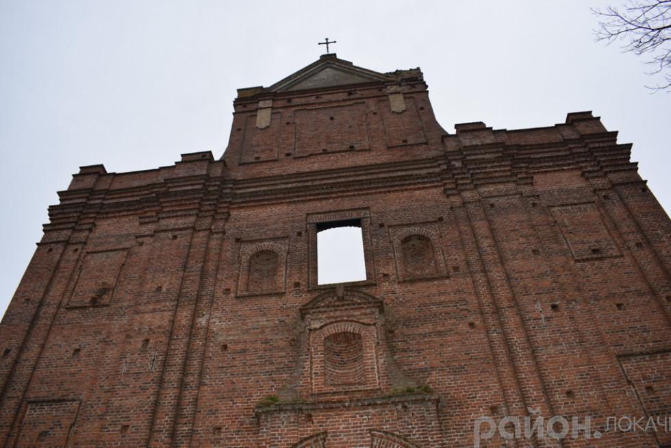 Забутий костел у Кисилині