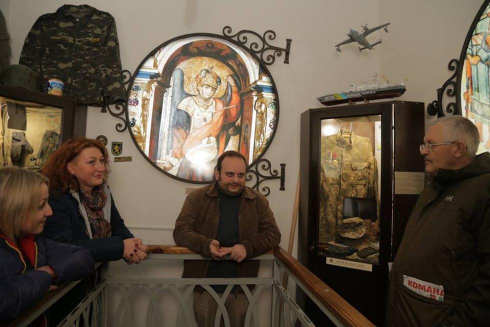 Експозиція сьогодення у Жовківському музеї