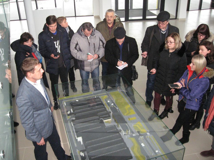 На екскурсії у рамках прес-туру «Україна очима редактора»