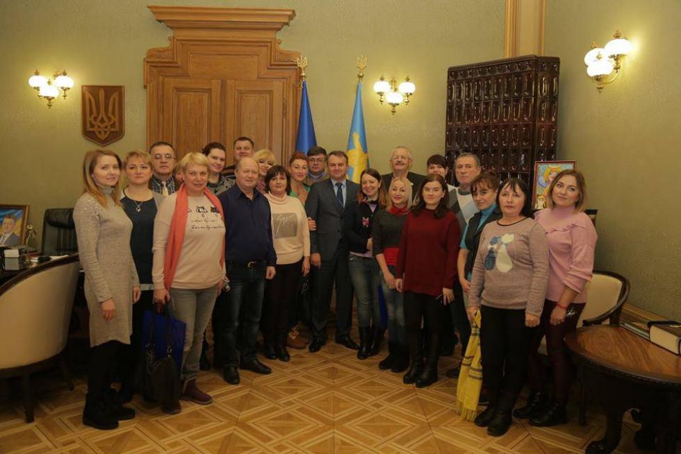 Зустріч журналістів з головою Львівської облдержадміністрації