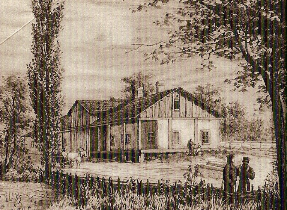 Губин під Луцьком. Садиба родини Крашевських в 1849-1853 рр.