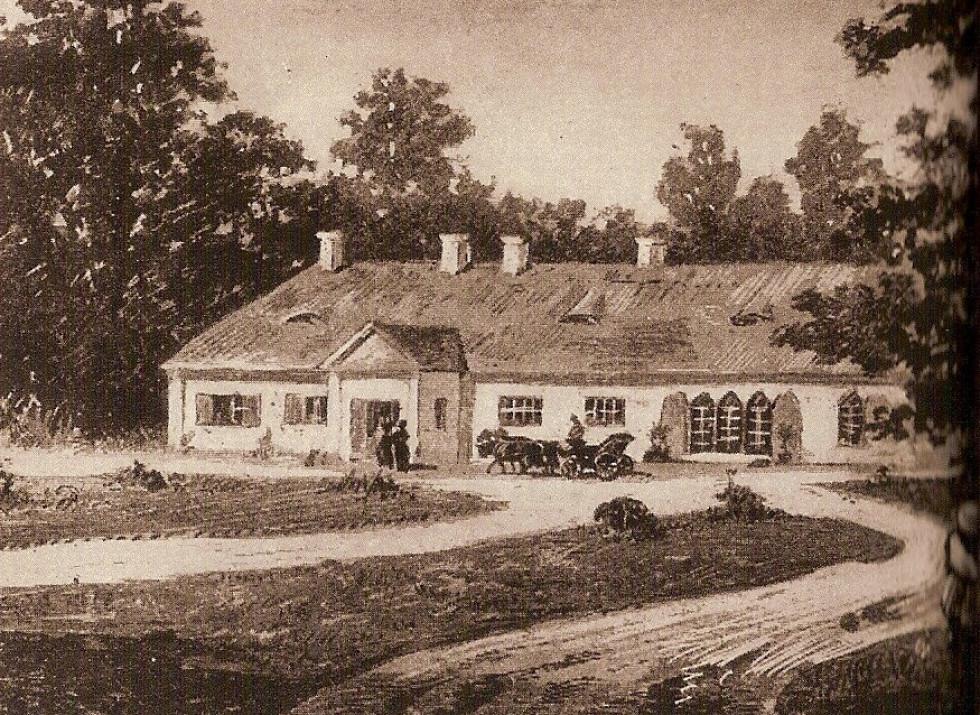 Будинок Крашевських в Городку. Автор Ян Конопацький